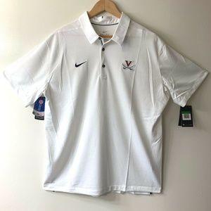 Nike University of Virginia (UVA) Dri-Fit Polo